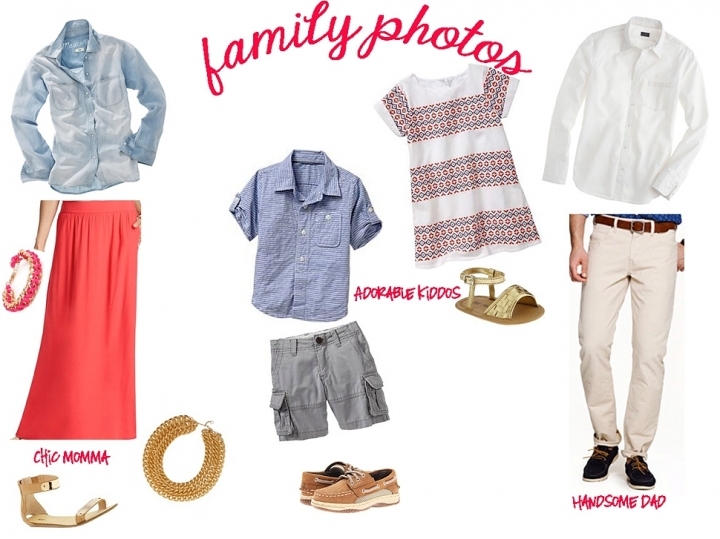 Dallas Family photo wardrobe inspiration